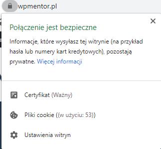 SSL na Wpmentor
