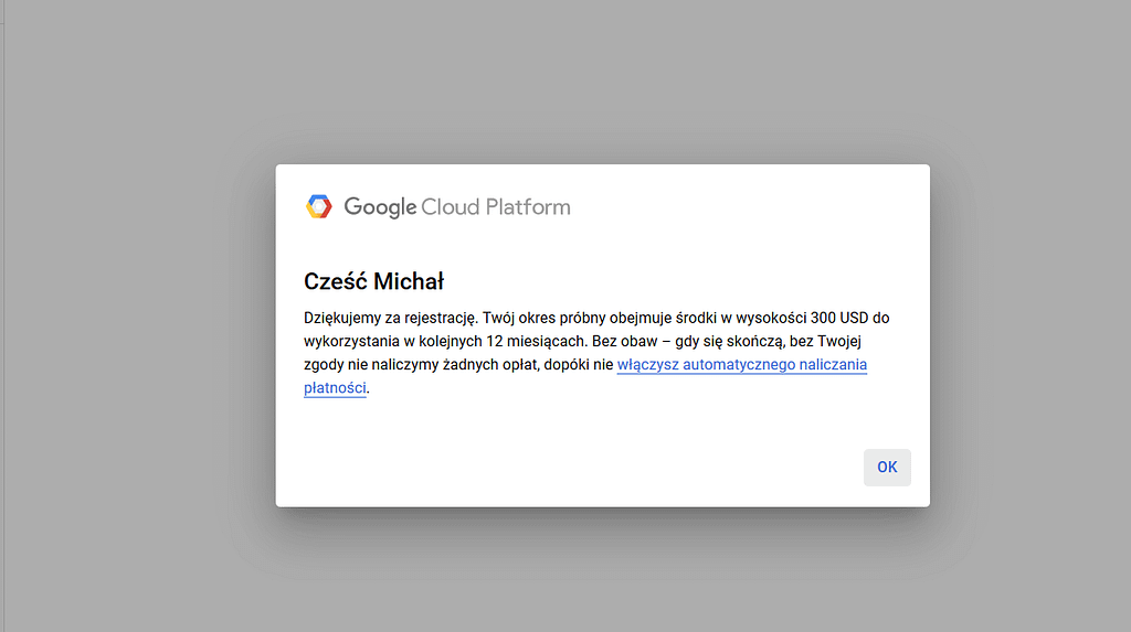 Google Platform Cloud