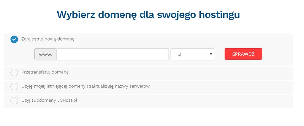 Jak założyć domenę